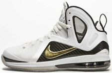 Nike LeBron 9 PS Elite Size 9.5 Home Gold White South Beach Air Max