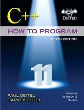 C++ How to Program by Harvey Deitel and Paul Deitel (2013, Paperback / Mixed...