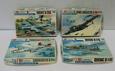 4x Crown Scale 1/144 Model Aircraft's Boeing Lancaster Consolidated Boxed -254