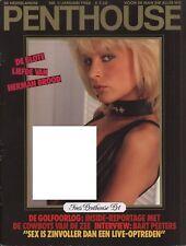 Dutch Penthouse magazine 1988-01 Herman & Xandra Brood, Ines Pospich, Cicciolina