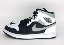 Nike Air Jordan 1 Mid White Shadow Weiss Schwarz Grau Größen 40.5, 42.5, 43, 44