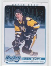 12/13 UD...MARIO LEMIEUX...1980'S HOCKEY HEROES...CARD # HH50...PENGUINS