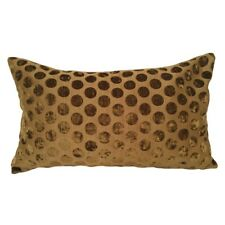 "Spotted Olive Green Upholstery 14x24"" Decorative/Throw Pillow Case/Cushion Cover"