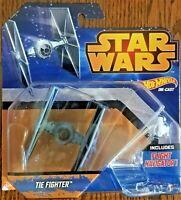Disney Hot Wheels Star Wars Starship Tie Fighter with Flight Navigator Sealed