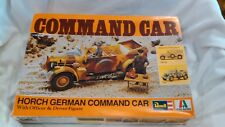 Horch German Command Car & Figures Model Kit #H2109 135 Scale By Revell 1976 m93