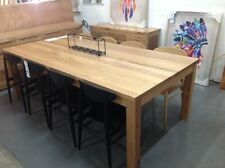 Roseville - 2400mm Solid Messmate Dining Table with 8 Chairs
