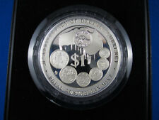 1996 $1 1oz SILVER PROOF COIN - 30th ANNIVERSARY OF DECIMAL CURRENCY (1966-1996)