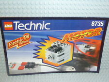LEGO® Technic Bauanleitung 8735 9V Motor ungelocht instruction B1460