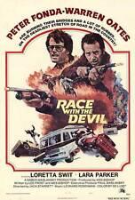 RACE WITH THE DEVIL Movie POSTER 27x40 B Peter Fonda Warren Oates Loretta Swit