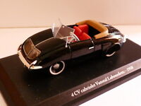 4CV12A 1/43 ELIGOR hachette renault 4CV n° 31 VUTOTAL cabriolet Labourdette 1950