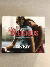 DKNY RED DELICIOUS FOR MEN  EDT 50ML DISCONTUED VINTAGE