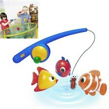 Fishing Toy Fish Rod Kids Toddler Children Play Bath Magnetic Coordination Game