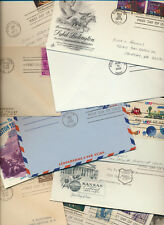 USA COVER HOARD LIQUIDATION SALE 625+ Assorted Covers, Postcards for only $50.00