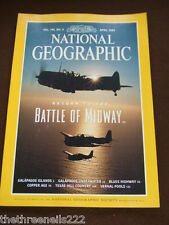 NATIONAL GEOGRAPHIC - RETURN TO BATTLE OF THE MIDWAY - APRIL 1999