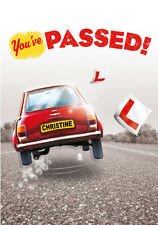 'YOU'VE PASSED' DRIVING TEST Personalised Card!!! LARGE A5 SIZE!! COOL!!!!