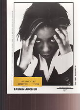 tasmin archer limited edition press kit