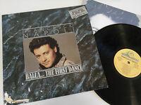 "FRANCESCO NAPOLI BALLA THE FIRST DANCE LP VINYL VINILO 12"" 1991 G+/VG SPANISH ED"