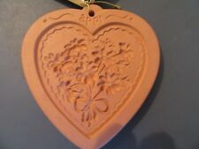 limited edition 1996 Cotton press Mold, Wax, Paper, Cookie, Decoration
