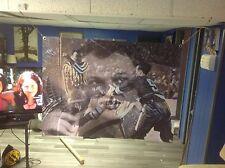 BIG!! 43x32 GORDIE HOWE Vinyl Banner POSTER Detroit Red Wings wayne gretzky ART
