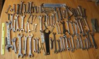 Wrench Lot of Combo wrenches Apx 90 tools Craftsman Diamond MAC Husky Snap on +
