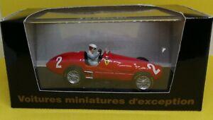 Ferrari 500F2 Alberto Ascari #2 GP Hollande 1952 avec figurine Brumm 1/43 F1