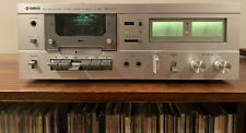 Yamaha Tc-520 Natural Sound Stereo Cassette Deck Serviced New Belts Works Great