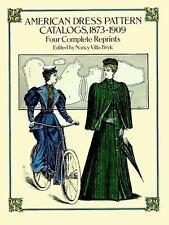 VG Victorian Edwardian Period Clothing Fashion Dress Pattern Catalogs 1873 1909