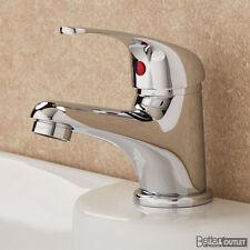 Taps Bathroom Mixer Basin Tap Chrome Wash Sink Mono Lever Modern