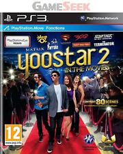 YOOSTAR 2 - MOVE COMPATIBLE - PLAYSTATION PS3 BRAND NEW FREE DELIVERY