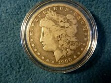 1900 O  MORGAN SILVER DOLLAR FINE (ENCAPSULATED)