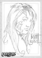 Witchblade Millennium SKETCH CARD MATT BUSCH