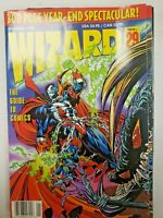 WIZARD MAGAZINE #29 January 1994 NM Spawn cover/fold out poster Image