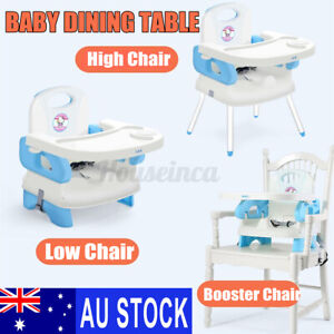 Portable Baby Infant Dining High Chair Toddler Eating Feeding Table Booster Seat