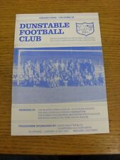 06/08/1987 Dunstable v Fulham [Friendly] . Thank you for viewing this item, we h
