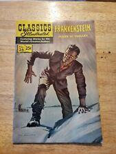 Rare Classics Illustrated Frankenstein, Horror, Comic. Classic monsters