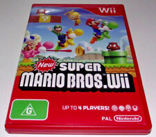 New Super Mario Bros Nintendo Wii PAL *Complete* Wii U Compatible