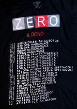 RENATO ZERO Movimento tour 2006 t-shirt con date taglia XL IL DONO maglia