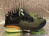 Nike Joyride Run FK Flyknit Running Shoes Black/Green CT1600-001 Men's Size 9.5