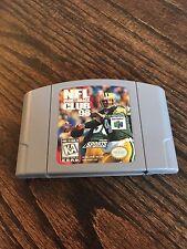 NFL Quarterback Club 98 (Nintendo 64, 1997) Game Cart Works NE5