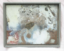 ANDY WING Original Signed Mixed Media Multidimensional Assemblage Art/Painting