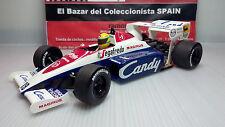 1:18 1984 Toleman TG184 Ayrton Senna + CANDY  - MINICHAMPS - 3L 050