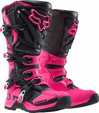 Fox Racing Youth Pink Black Girls Comp 5 Dirt Bike Boots Motocross 2017 SIZE 3