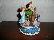 Vintage Disney Peter Pan & Wendy You can Fly! Musical Music Box