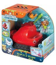 Octonauts Gup X & Dashi with Octo Ski & Horseshoe Crab Fisher Price Toy Gift NEW