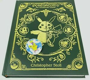 Pokenatomy Unofficial Pokemon Anatomy Leatherbound Book Celebrations Pikachu Pin