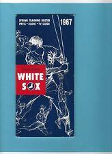 1967 Chicago White Sox MLB Media Guide
