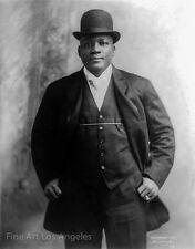 Otto Sarony Photo, boxer Jack Johnson, 1909