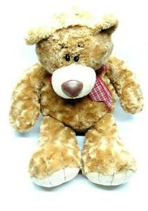 "First And Main Plush Bubba No. 1017 Stuffed Animal Bear Brown 20"""