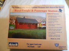 HO TRAIN IHC RURAL FREIGHT & PASSENGER STATION KIT NIP