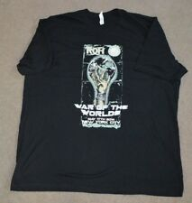 Ring of Honor 2014 War of the Worlds Wrestling Shirt 2XL NYC ROH NJPW Japan
